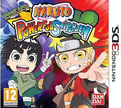 Naruto Powerful Shippuden Nintendo 2DS 3DS PAL UK