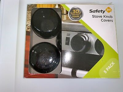 Safety 1st Stove Knob Covers, Stove Guard, Gas Oven knob Protection, 5 Count,