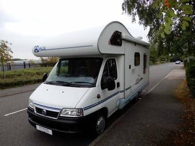 Ace Novella Napoli 4 Berth L Shaped Lounge Motorhome for Sale