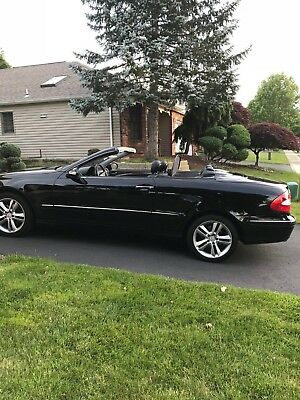 2007 Mercedes-Benz 300-Series  2007 mercedes 350 CLK convertible