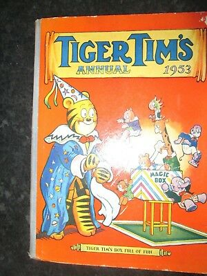 Tiger Tims Annual  1953