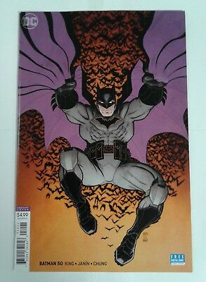 BATMAN #50 (DC 2018) Arthur Adams Virgin Art Variant Cover Catwoman Wedding NM!