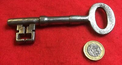 Reclaimed Georgian Victorian Ward Key Large  And Chunky  Clean Key