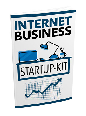 Internet Business Startup Kit ebook + Full Master Resell Rights + Free Shipping