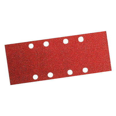 Bosch 1/3 Sanding Sheets Punched 93 x 186mm Assorted Grit - 10 Pack -  2 608 60