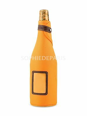 VEUVE CLICQUOT Neoprene Cover Jacket Sleeve CHAMPAGNE Carry Case Carrier bottle
