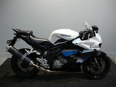 2015 Hyosung Gt650R Gt650 White Sportsbike Nationwide Delivery Available