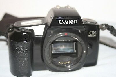 Canon EOS 1000F 35mm SLR Film Camera Body Only - Good Condition - Fully Working.