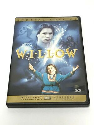WILLOW - Special Edition DVD - VAL KILMER 1988 Ron Howard RARE OOP George Lucas