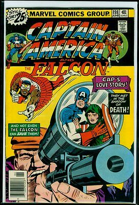 Marvel Comics CAPTAIN AMERICA And The FALCON #198 Kirby Art FN 6.0
