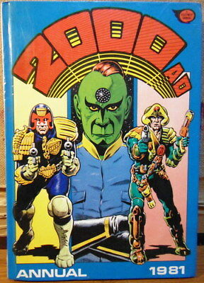2000AD Annual 1981 Excellent Condition UNCLIPPED Judge Dredd Free UK P/P