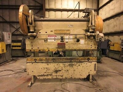 CINCINNATI 50-6 MECHANICAL PRESS BRAKE, 90 ton