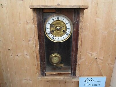 Antique/Victorian? Wall Clock by HAC Germany for Restoration