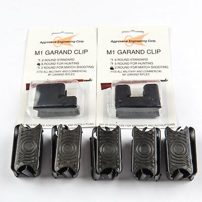 M1 Garand Combo 12-Pack of Clips - 10x 8rd, 1x 5rd, & 1x 2rd Clips New mix Round