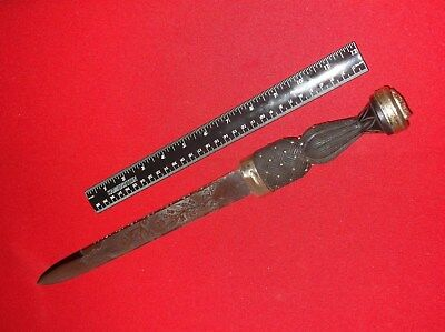Antique(original) c1879-1900 Scottish Highland Dirk-Great!