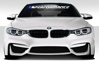 Bmw M Performance Car Decal Vinyl Stickers Banner Windshield Jdm