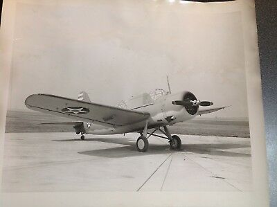 750 Original Vintage Military Aircraft Photo OS2N-1 Kingfisher Scout
