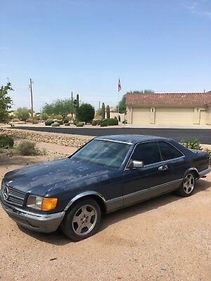 1982 Mercedes-Benz 500-Series European Spec, special order 1982 Mercedes 500 SEC