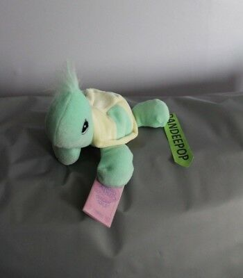 Enesco Tender Tails Turtle Stuffed Animal 358339 With Tag