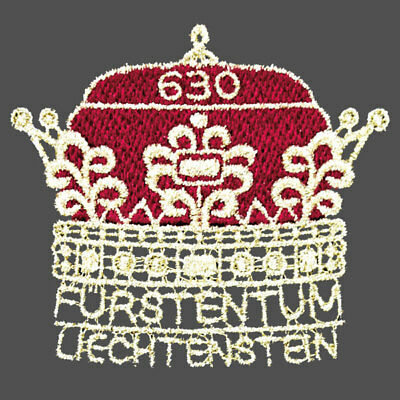 LIECHTENSTEIN 2019  embroidered stamp «300 Years of Liechtenstein» issue 23-1-19