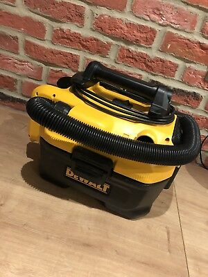 Dewalt Xr Li Ion Mains Wet Dry Vac Dcv582 Vacuum Hoover Cleaner Blower Workshop