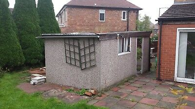 Asbestos Garage removal Chester .Concrete garage removal Chester.