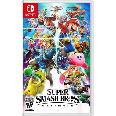 Super Smash Bros Ultimate Nintendo Switch Brand New Unopened No Tax