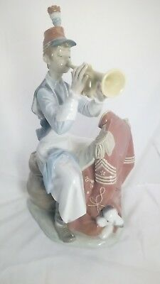Lladro RL402 Practice Makes Perfect Norman Rockwell Series L8
