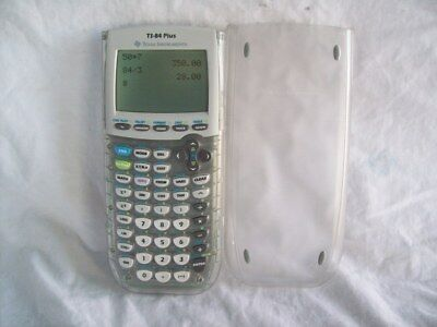 Texas Instruments TI-84PLUS Graphing Calculator Clear Case