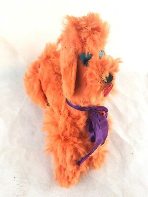 Vintage Dollcraft 50s 60s French Poodle Plush Stuffed Animal Carnival Toy Prize