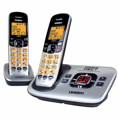 Uniden DECT3135+1 Two Handset Cordless Home Phone With Digital Answering Machine