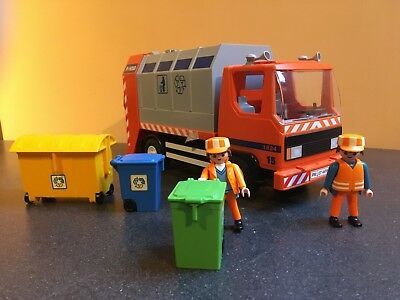 Playmobil Set 4418 Recycling Truck Set with Figures - VGC