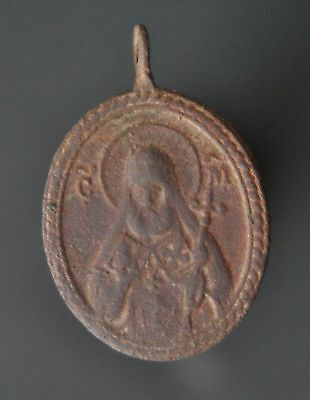 Ancient pendant find №278 Metal detector finds 100% original