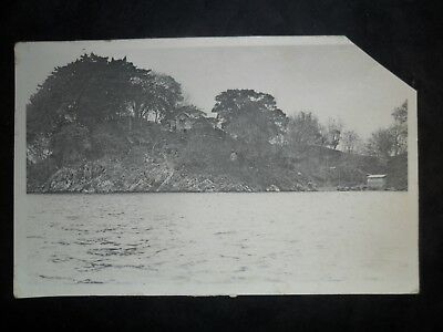 Trinidad 1909 picture postcard to Guernsey. Packet Letter postmark. Good. Look.