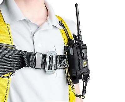 New PYTHON -CAPITAL SAFETY 15000088 Adj. Radio/ Cell Phone Holster,  Free Ship