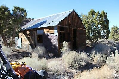 Gold Mine Mina Nevada Pilot Mountains Adit Mining Silver Claim - Cabin on Site
