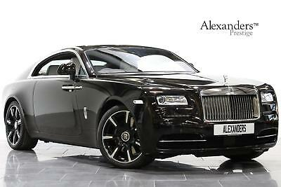 """2017 Rolls-Royce Wraith 6.6 V12 Auto """"Inspired by Music"""" Roger Daltrey 1 of 1 Pe"""