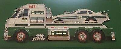 2016 Hess Truck with Dragster New in factory Box!