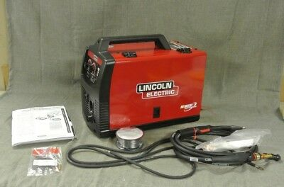 Lincoln Electric 125 Amp Hd Weld-Pak Flux Corded Wired Feed Welder (97526-1 H)