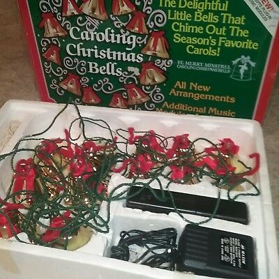 Ye Merry Minstrel Caroling Christmas Bells 25 Songs 12 Bells