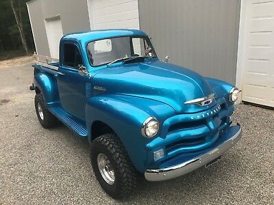 1955 Chevrolet Other Pickups 3100 short bed 1955 Chevrolet 3100 SHORT BED STEP SIDE PICK UP TRUCK LIFTED 4X4 350019