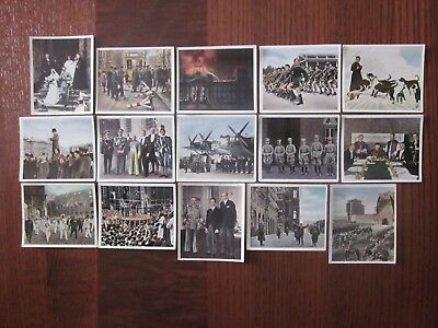 15 German cig. cards of Events of the 1920s and 1930s  issued 1935, 3/3
