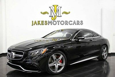 2017 Mercedes-Benz S-Class S63 AMG DESIGNO COUPE ($180,445 MSRP!) 2017 MERCEDES S63 AMG DESIGNO COUPE~$180,445 MSRP~ BLACK ON RED~ ONLY 6100 MILES