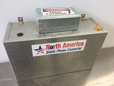 North America static phase converter SPC Dash 5 hp range 3 to 5 30 Amps 10 AWG