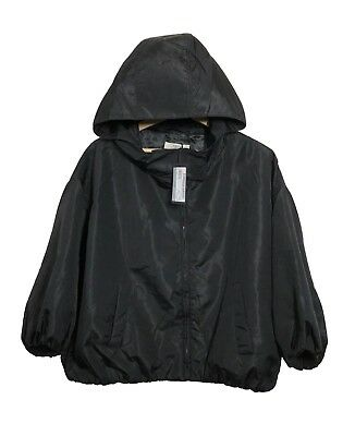 "[RRP £980] *NEW* Genuine PRADA Made-in-Italy Silk Blend ""Giubboto"" Hooded Jacket"