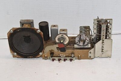 Zenith Transoceanic Shortwave Tube Radio Part G500 CHASSIS WITH SPEAKER