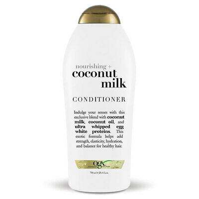 OGX 750ml Nourishing Haircare Treatment Coconut Milk Hair Care Conditioner Soap