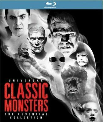 Universal Classic Monsters The Essential Collection (Blu-ray 8-Disc Set)