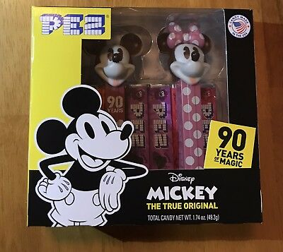 Disney: Mickey Mouse: 90th Anniversary Pez Twin Pack