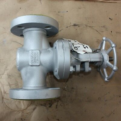 "BONNEY FORGE 081652-0100 1 1/2"" INCH flanged gate valve DN40 40mm WCB Class 600"